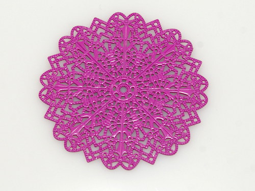 měděné kolečko- růžové