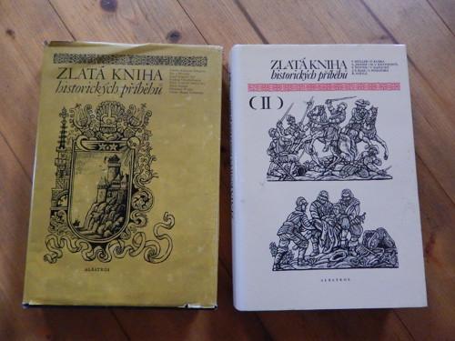 Zlatá kniha historických příběhů - 2 díly