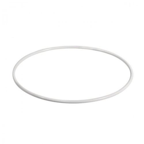 Kovový kruh na výrobu lapače snů / 20 cm / Bílý