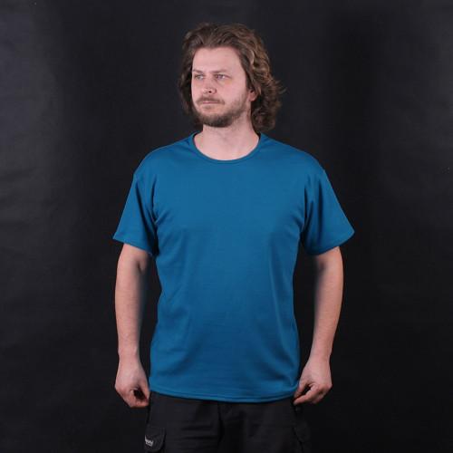 Tričko pánské tyrkysové