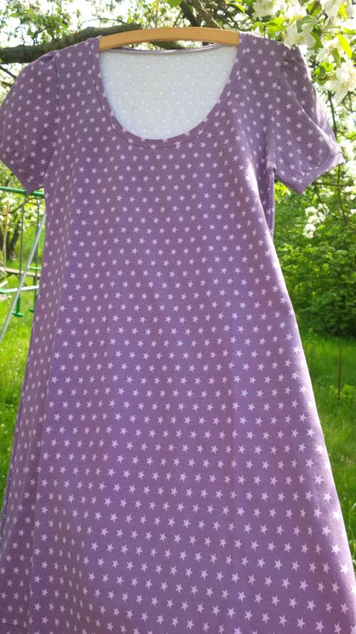 Noční košilka s malymi hvezdickami vel. S/M