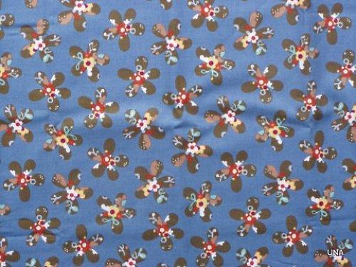 Látka Pod mořem - hvězdice (modrá)