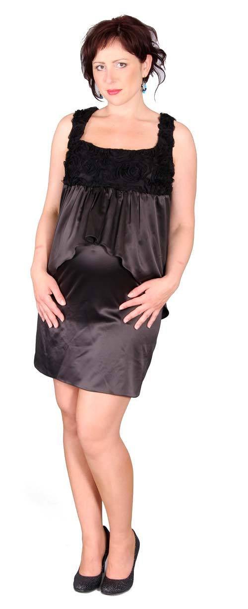 Těhotenské společenské šaty Lexmond 0349