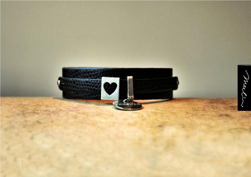 Náramek - srdce - forever - 3 velikosti v jednom