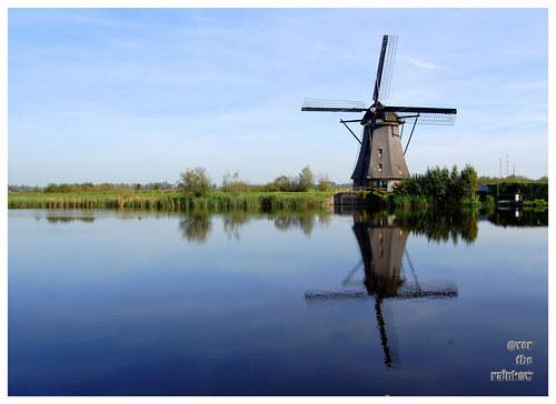 Kinderdijk – autorská fotografie, barevná