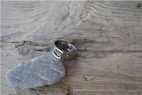 Elegantní prsten s ornamenty