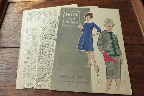 Mode und Schnitt 71/1962, móda, střihy!