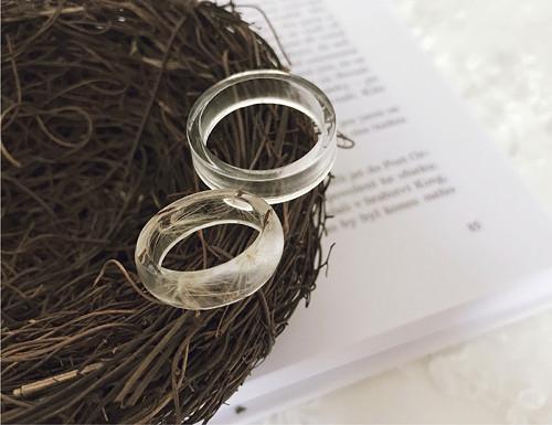 """Pánský prsten \""""clear\"""""""