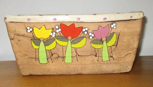 Truhlík - Tulipány