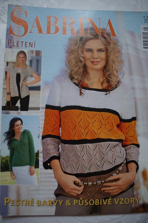 Časopis Sabrina  - pletení č.21