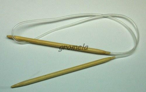 Jehlice kruhové vel.5,5 (80 cm) - bambus