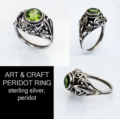 Art & Craft Peridot Ring