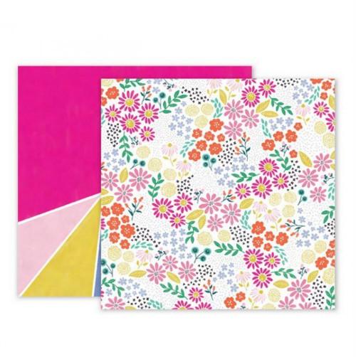 Scrapbook.papír Pink Paislee/Oh My Heart/Paper 13