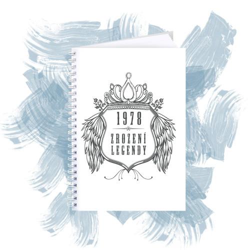 Zápisník s motivem - zrození legendy 2