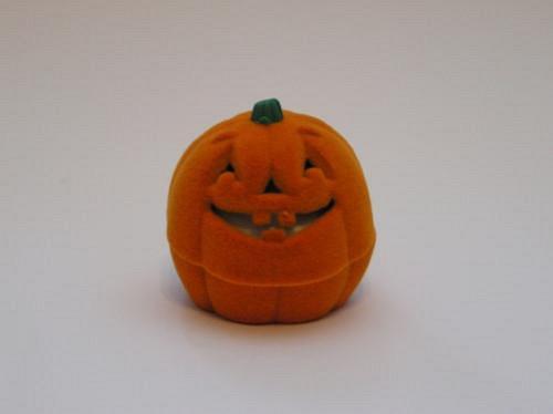 Dýně na helloween - krabička na šperky