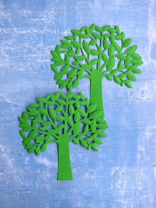 Listnatý strom - 2 ks