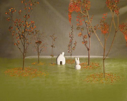Tam, kde bydlí králíček/podzim