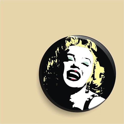 zrcátko - božská Marilyn