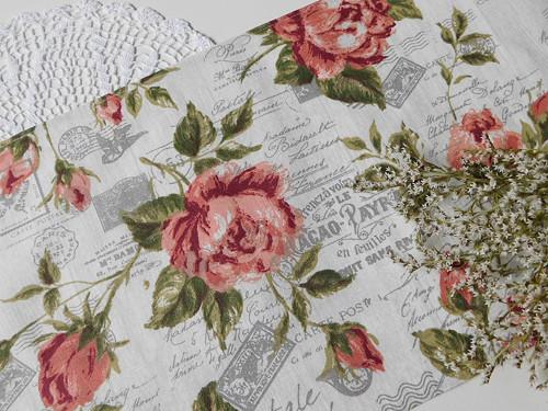 Středový ubrus s růžemi