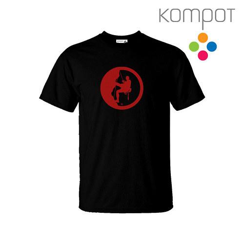 Pánské tričko HOROLEZEC :: černé, vel. S-XXL