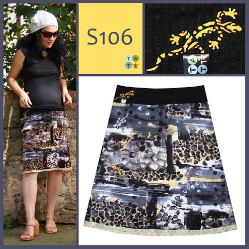 (S106) sukně