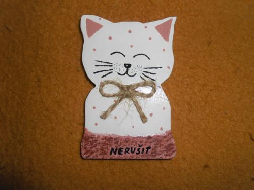 Magnetka kočička - nerušit