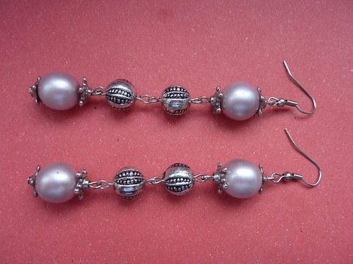 Světle růžové ukryté perly
