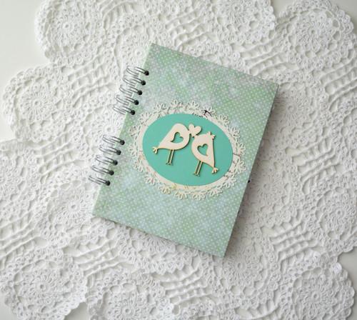 """Plánovací svatební deník \""""mint\"""""""