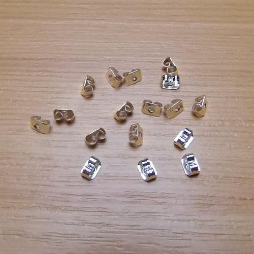 Kovové  zarážky - 50 kusů