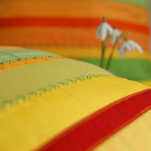 Jarní pučení... povlak na polštářek
