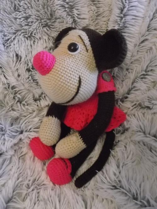Opička RŮŽENKA