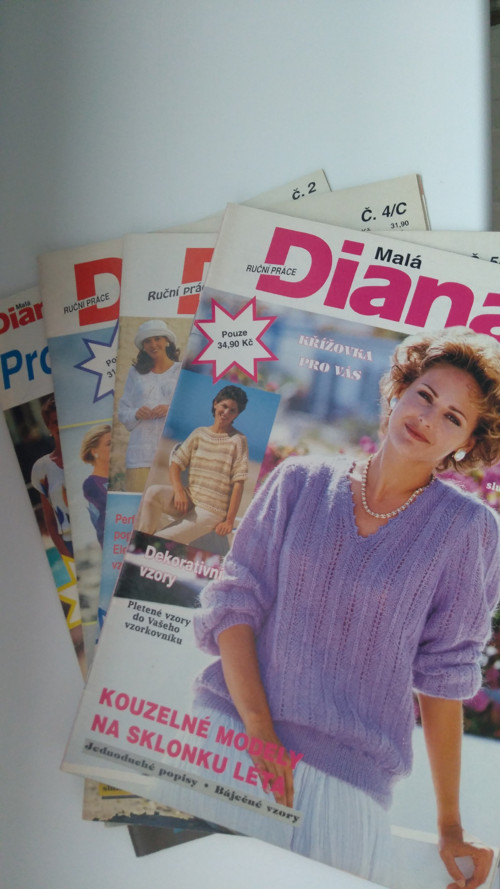 Sada časopisů Diana