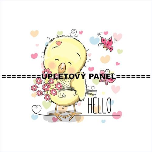 Dětský úpletový panel 40 x 40 cm