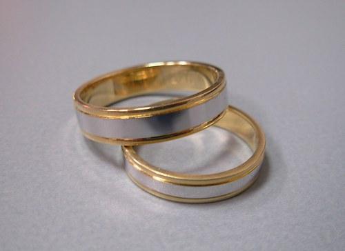Snubní prsteny č.3