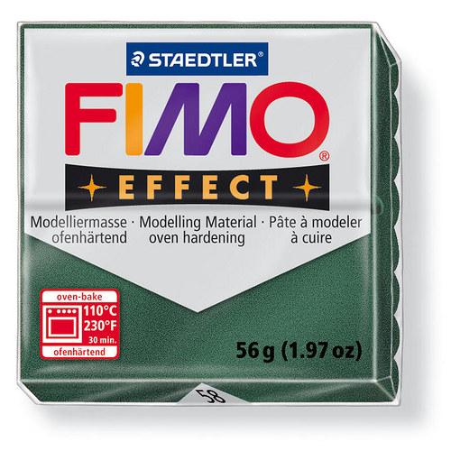 Fimo effect metalická opálová zelená 58