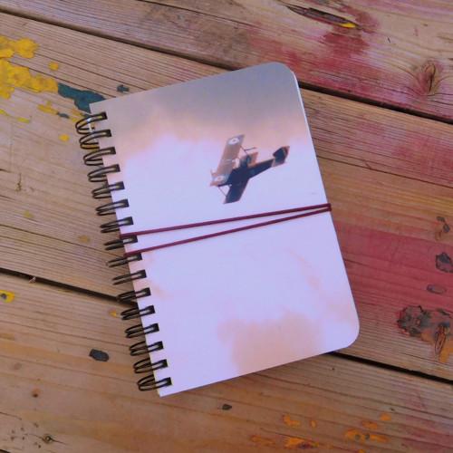 Dvouplošník, zápisník malý, upcyklovaný