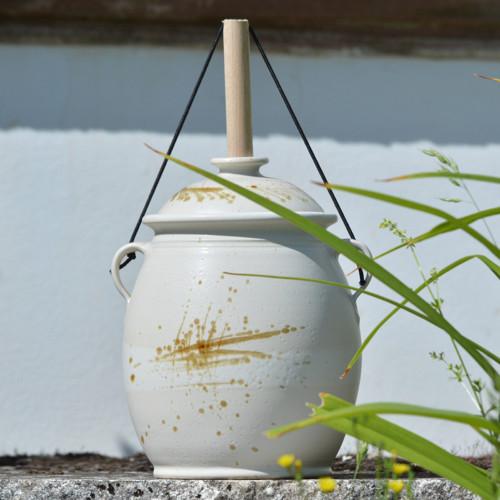 Kvašák velký buclatý s vodním zámkem 4,1l - Vůně