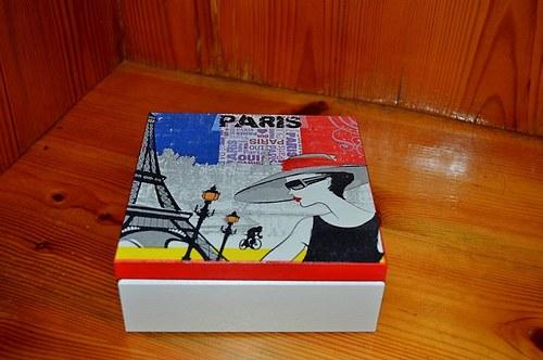 Krabička, šperkovnice - Paříž