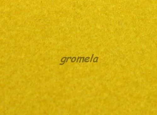 Žlutý filc 1,5 mm - 123