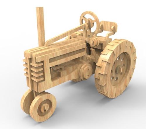Modely aut | farmářský traktor