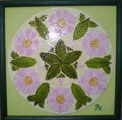 Mandala Šípková růže