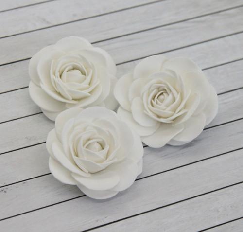 Růžička foamiranová, 4 cm