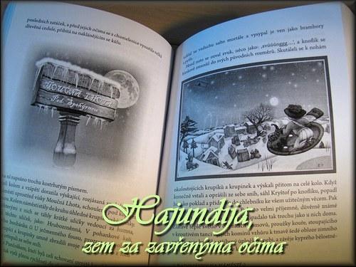 """Čtení - knížka \""""Hajundija, zem za zavřenýma očima\"""""""