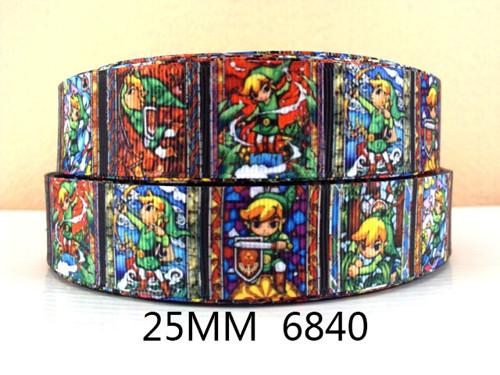 Stuha rypsová š.25 mm: Zelda