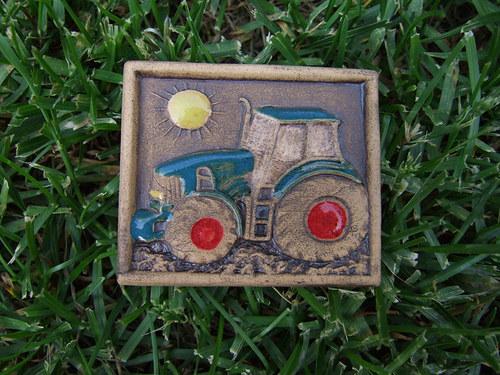 Magnetka keramická- traktor