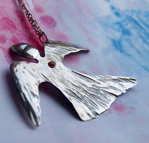 Andělský přívěsek