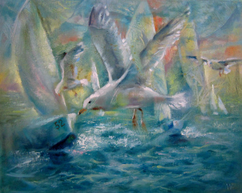 Mořští ptáci