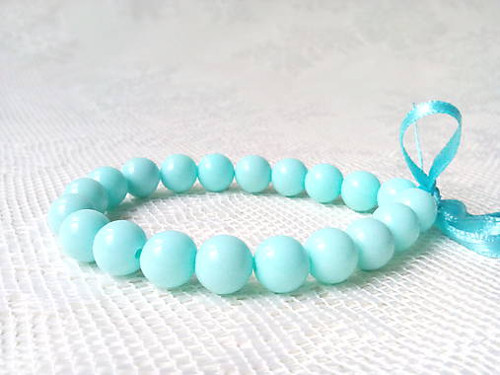 Pin Up bracelet (baby blue)