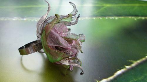 Růžová zahrada - prstýnek