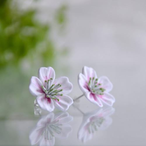Kvítečky na ouška z kolekce Květ sakury